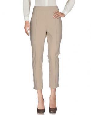 Повседневные брюки SORELLE SECLÌ. Цвет: бежевый