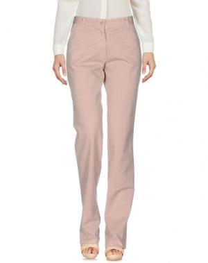 Повседневные брюки FRED PERRY. Цвет: телесный