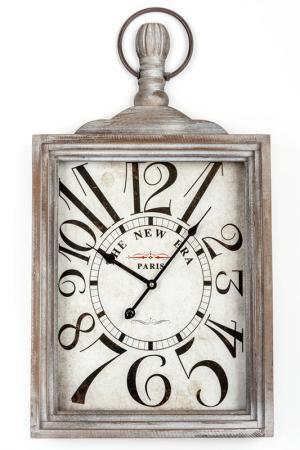 Настенные часы EDG. Цвет: серый