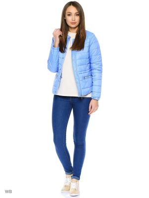 Куртка Modis. Цвет: серо-голубой
