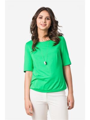 Блузка HELMIDGE. Цвет: зеленый