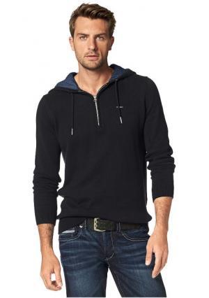 Пуловер BRUNO BANANI. Цвет: черный