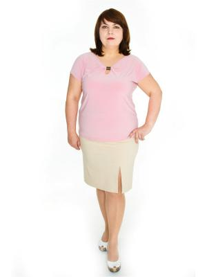 Блузки Левлада. Цвет: розовый