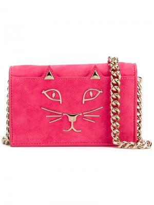 Сэтчел Little Kitty Charlotte Olympia. Цвет: розовый и фиолетовый