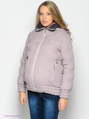 Куртка EUROMAMA. Цвет: сиреневый