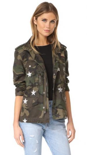 Камуфляжная куртка Jocelyn. Цвет: зеленый камуфляжный