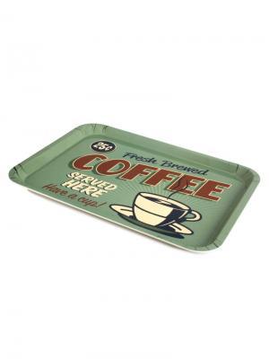 Поднос Best Coffee Balvi. Цвет: серо-зеленый