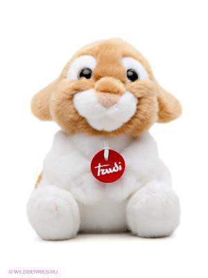 Кролик Оливер TRUDI. Цвет: коричневый, белый
