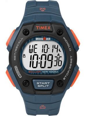 Часы TIMEX. Цвет: синий
