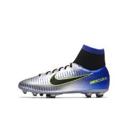 Футбольные бутсы для игры на твердом грунте школьников  Jr. Mercurial Victory VI Dynamic Fit Neymar Nike. Цвет: серый