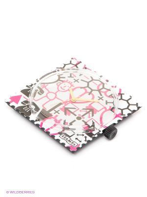 Часы S.T.A.M.P.S.. Цвет: белый, розовый