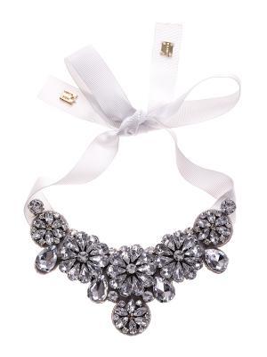 Ожерелье Caractere. Цвет: серый