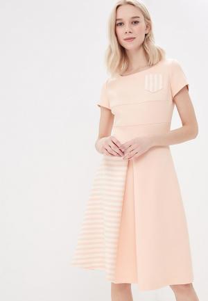 Платье Vemina City Lisa Romanyk. Цвет: розовый