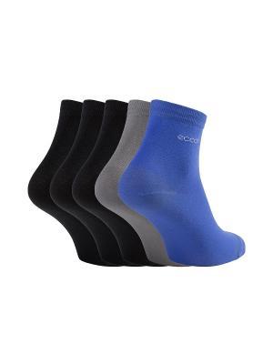 Носки ECCO. Цвет: серый, черный, синий