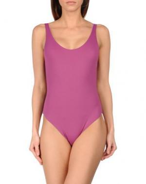 Слитный купальник KRISTINA TI. Цвет: розовато-лиловый