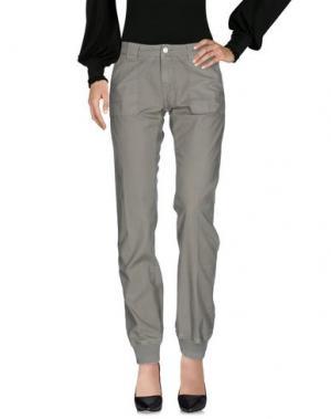 Повседневные брюки 2W2M. Цвет: зеленый-милитари