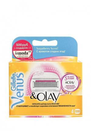 Комплект сменных кассет для бритвы Venus