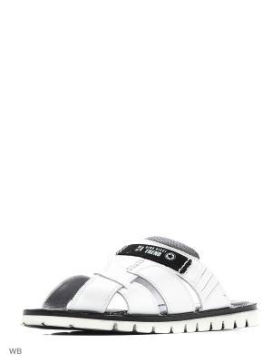 Пантолеты Dino Ricci. Цвет: белый, черный