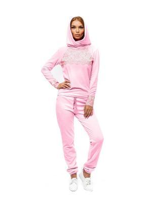 Спортивный костюм IMAGEFOR. Цвет: розовый