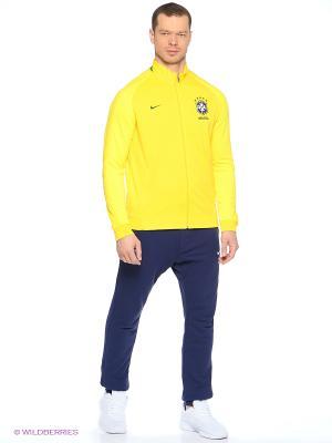 Толстовка CBF AUTH N98 TRK JKT Nike. Цвет: желтый