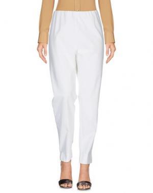 Повседневные брюки SWEET LOLA. Цвет: белый