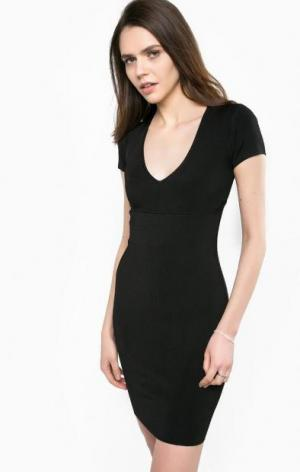 Облегающее платье из вискозы Liu Jo. Цвет: черный