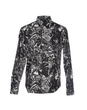 Pубашка VANGHER N.7. Цвет: стальной серый