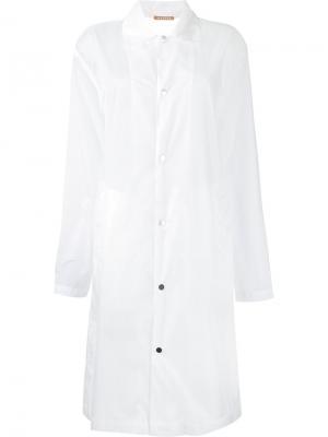 COLLA sheer coat Nehera. Цвет: белый