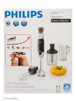 Ручной блендер электрический Philips HR1674/90. Цвет: черный