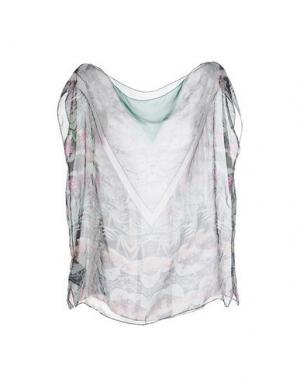 Блузка THE TEXTILE REBELS. Цвет: светло-зеленый
