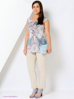 Блузка Emi Filini. Цвет: зеленый