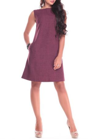 Платье-сарафан Laura Bettini. Цвет: сливовый