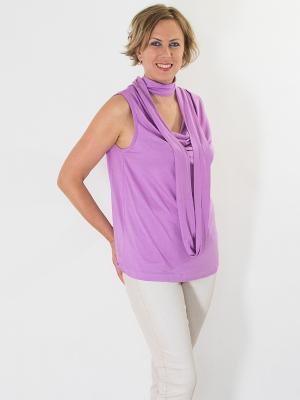 Блузка Brava Catalan. Цвет: сиреневый