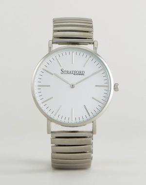 Stratford Наручные часы. Цвет: серебряный