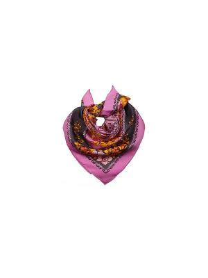 Платок Venera. Цвет: зеленый, розовый