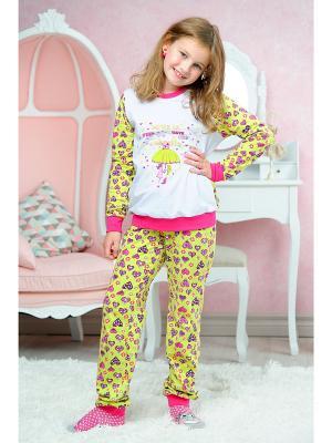 Пижама KitFox. Цвет: салатовый