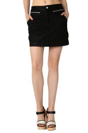 Юбка Isaco & Kawa. Цвет: черный