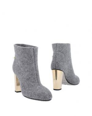 Полусапоги и высокие ботинки JUDARI. Цвет: серый