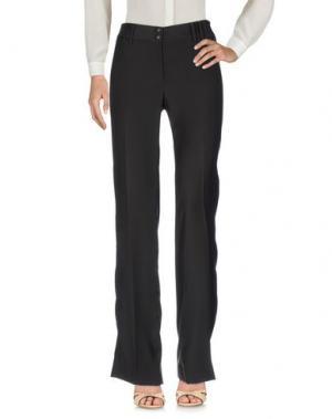 Повседневные брюки GOSSIP. Цвет: темно-коричневый