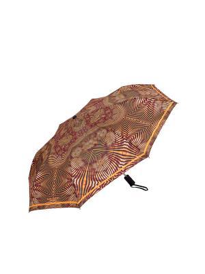 Зонт Slava Zaitsev. Цвет: коричневый