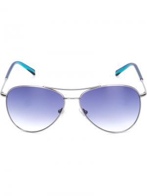 Солнцезащитные очки Louis Sama Eyewear. Цвет: металлический
