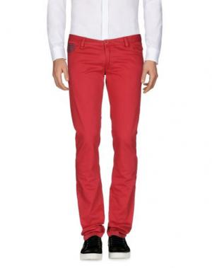 Повседневные брюки HARRY & SONS. Цвет: кирпично-красный