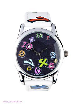 Часы Mitya Veselkov. Цвет: белый, голубой, зеленый, фиолетовый, черный