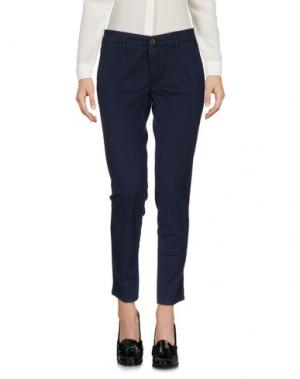 Повседневные брюки INX #THINK COLORED. Цвет: темно-синий