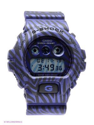 Часы G-SHOCK DW-6900ZB-2E CASIO. Цвет: фиолетовый