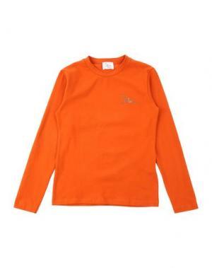 Футболка ILLUDIA. Цвет: оранжевый
