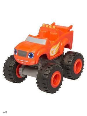 Базовые машинки из пластика Mattel. Цвет: красный