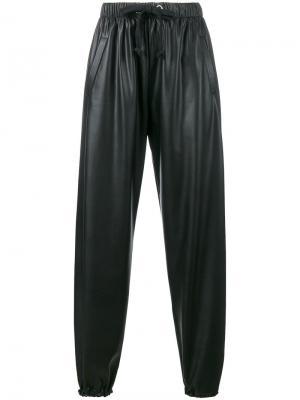 Свободные брюки Natasha Zinko. Цвет: чёрный
