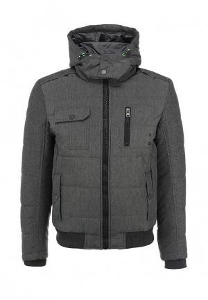 Куртка утепленная Forex. Цвет: серый