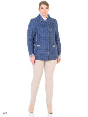 Утепленная куртка MONTSERRAT. Цвет: голубой, лазурный
